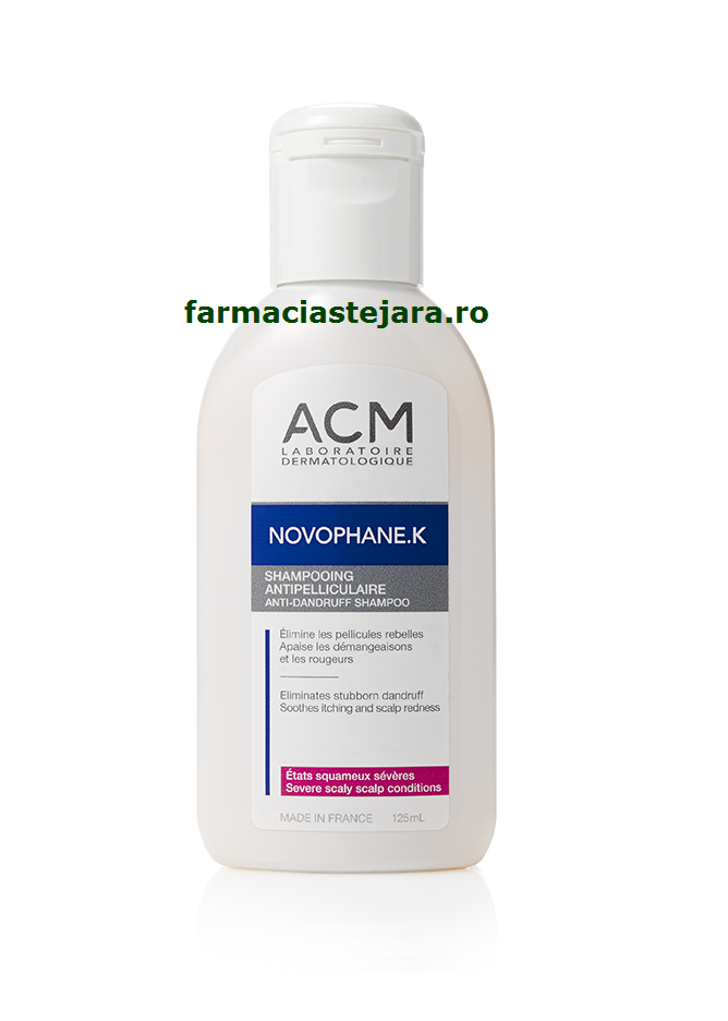 ACM Novophane K Sampon antimatreata 125 ml